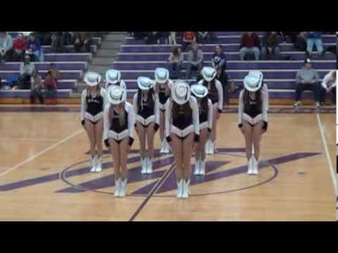 "Topeka West High School ""Westsiders"" Dance Team performance on January 31, 2014"
