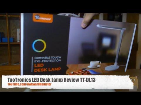 TaoTronics LED Desk Lamp Review TTDL13 YouTube – Led Desk Lamps Reviews