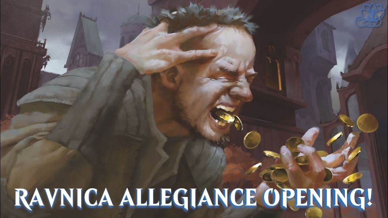 Ravnica Allegiance Prices SKYROCKET! | Let's crack open a BOX!