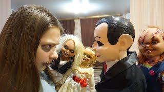 Эпичная БИТВА Баку со ЗЛЫМИ КУКЛАМИ!!! Кукла Билли 4 серия
