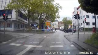 Datenschutz vs Autokamera in der Gefahrsituation - Aufnahme mit LKG1W LAURA
