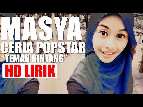 Masya Ceria Popstar - Teman Bintang (HD Lirik)