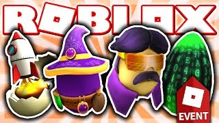 HOW TO GET ROCKET EGGSCAPE, MERLIN THE MEGGICAL, EGGY VICE, & EGGTRIX! (Roblox EGG HUNT Event 2019)
