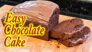 Chocolate Cake simple easy and quick to make