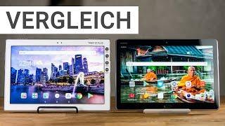 Tablet Vergleich: Lenovo Tab 4 10 Plus vs. Huawei MediaPad M3 Lite 10 | Deutsch