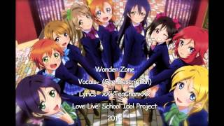 "[Love Live] ""Wonder Zone"" English Cover (M's)"
