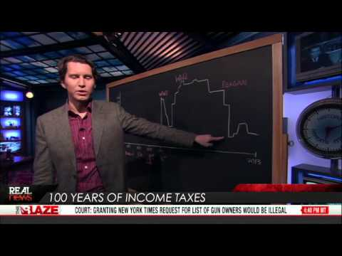 100 Years Of Income Taxes - TheBlazeTV - REAL HISTORY - 2013.02.05