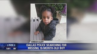 Dallas police searching for missing 18 month old