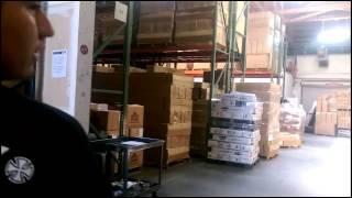 Mini tour of the NHS warehouse