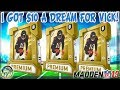 I GOT $10 A DREAM OF PULLING MIKE VICK LEGEND! | MADDEN 19 PACK OPENING
