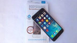 BodyGuardz ScreenGuardz Pure for iPhone 6 Plus: Installation and Review