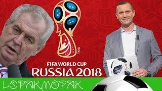 Jaromír Soukup a Miloš Zeman komentují Mistrovství světa ve fotbale