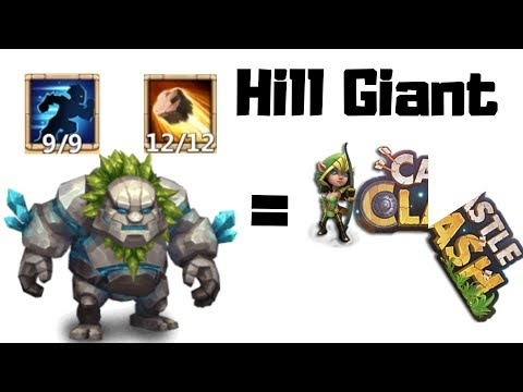 Hill Giant | Skill 12/12 | 9/9 Stealth | 8/8 Revite | Destiny 59 | Castle Clash