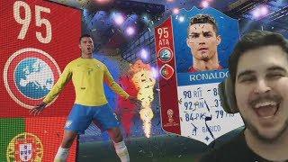 TIREI O CRISTIANO RONALDO NO PACK OPENING DA COPA! FIFA 18 Ultimate Team