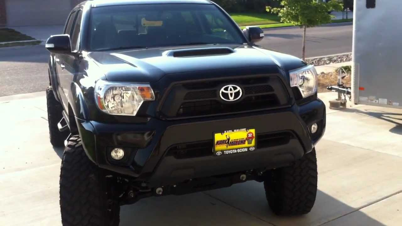 2012 Toyota Tacoma Procomp Lift Youtube