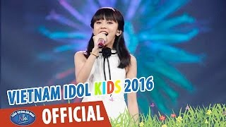 vietnam idol kids 2016 - gala 3 - if we hold on together - thuy anh