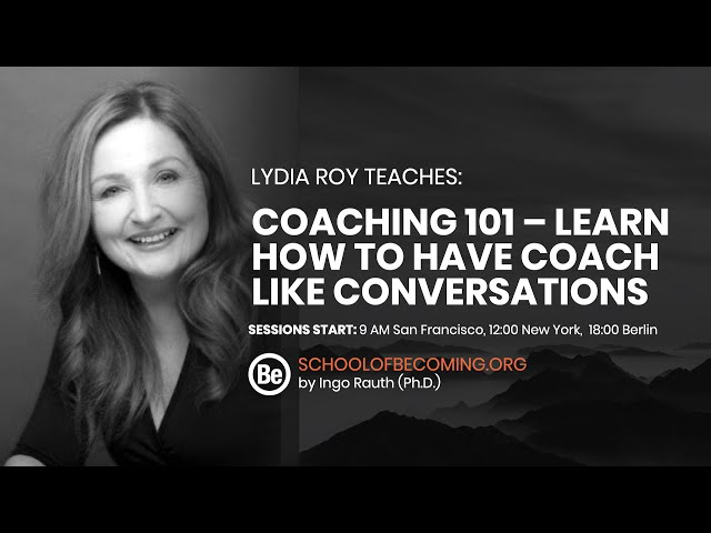 Coaching 101 - how to have coach like conversations