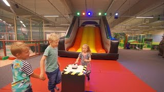 Fun Playground for kids at Lattjoland Indoor Play Center in Kalmar (family fun)