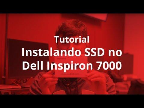 Como colocar um SSD M.2 no novo Dell Inspiron 7000