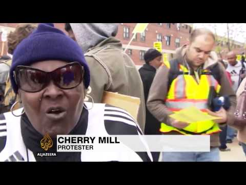 Outrage over Freddie Gray's killing in Baltimore protests