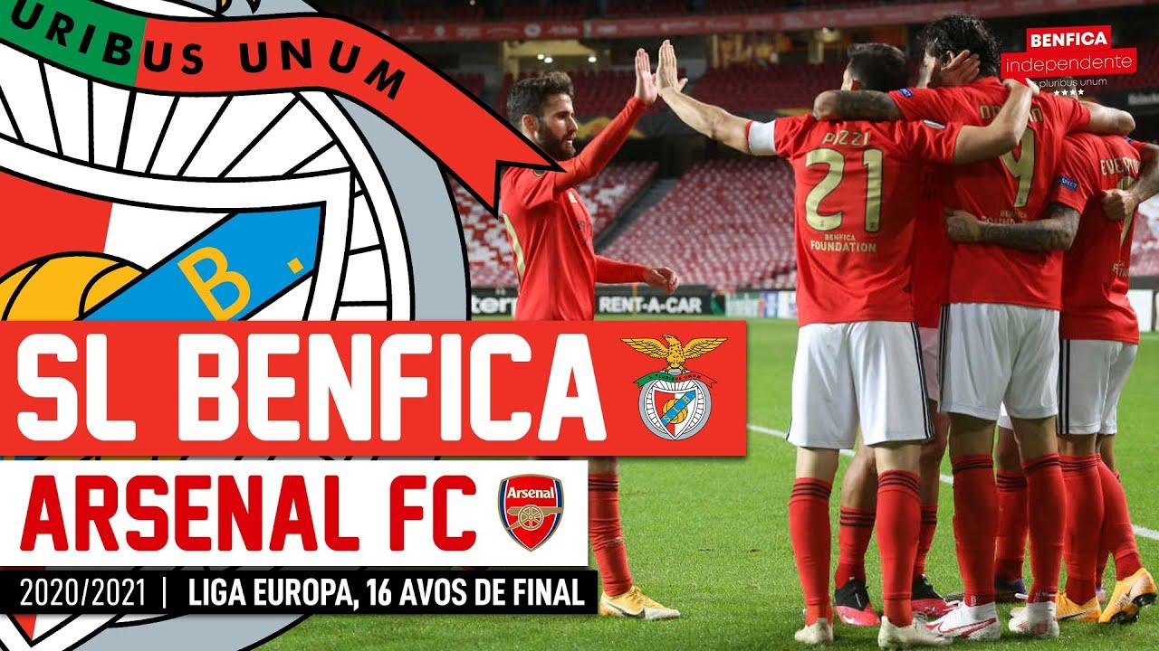 Benfica x Arsenal | RESCALDO Liga Europa