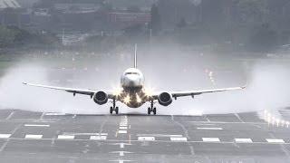 Water spray takeoffs @ Birmingham Airport