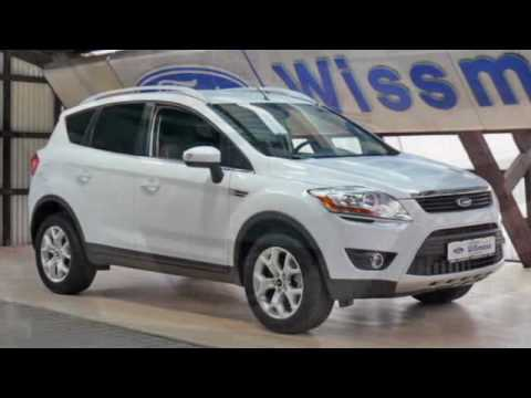 ford kuga trend 2x4 euro 5 frost weiss 103 kw diesel youtube. Black Bedroom Furniture Sets. Home Design Ideas