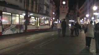 Freiburg-im-Breisgau (Germany) Tramway. Трамвай Фрайбурга-в-Брайсгау (Германия). 15.10.2011