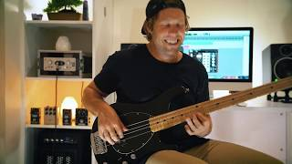 Play That Funky Music - Wild Cherry - Bass Cover (With Slap Bass Outro) - Kade Turner