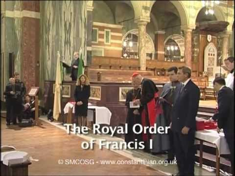 Constantinian Order 2003 -  Investiture of Baroness Margaret Thatcher