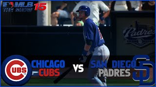MLB 15 The Show Chicago Cubs Franchise Playoffs- NLDS Game 3 at San Diego Padres