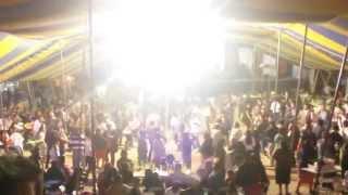 Banda Incomparable de Altepexi Puebla en San Gabriel Chilac, La conga roja