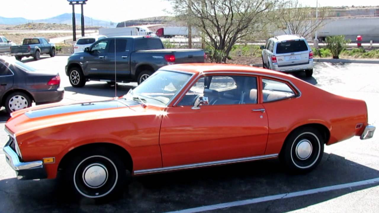 orange ford maverick owned by a clown youtube. Black Bedroom Furniture Sets. Home Design Ideas