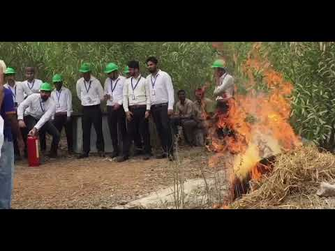 NIFS Badarpur New Delhi  Batch 2017-2018 Fire Extinguishers water type co2 Demo live @ vizag traning