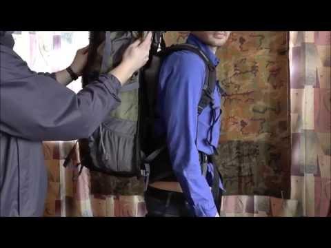 Как правильно носить рюкзак туристический