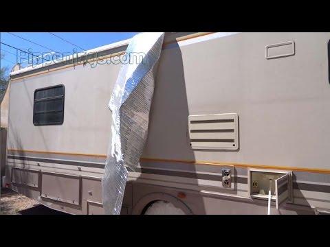 Rv Roof Insulation Update Youtube