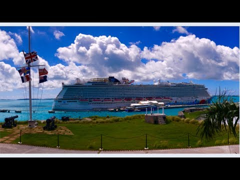 Norwegian Breakaway Cruise VLOG June 25, 2017 --- Bermuda Cruise