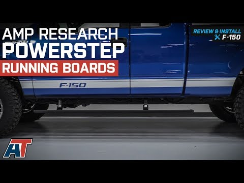 2009-2014 F150 Amp Research PowerStep Running Boards - Plug-n-Play Review & Install