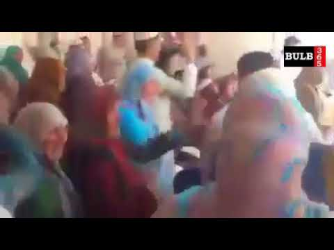 Barelvi Sunni remix dance with Women on drum beats
