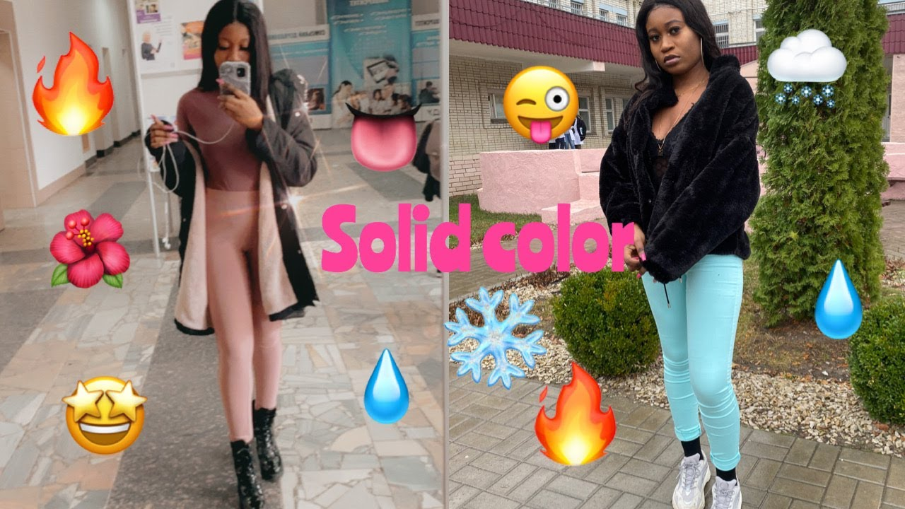 [VIDEO] - i wore solid color outfits to school for a weekBig mistake!! (birthday edition) 4