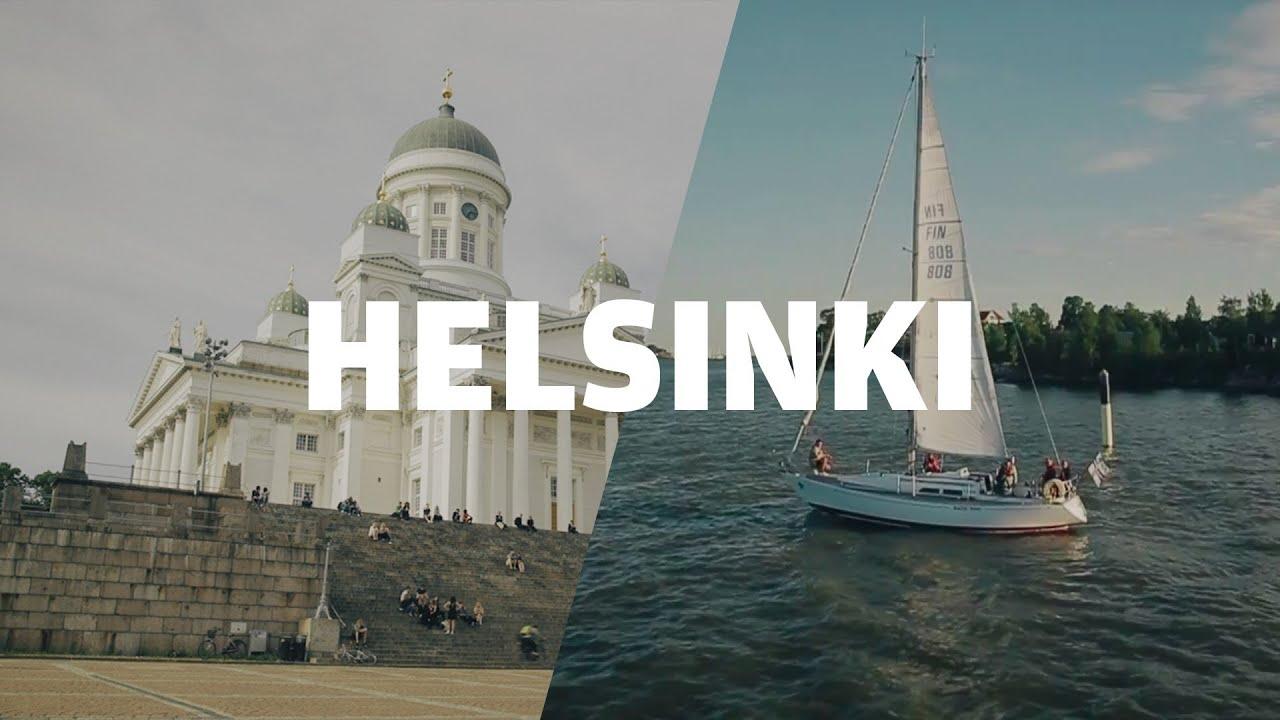 Helsinki Finnish Capital With Midnight Sun Finnair