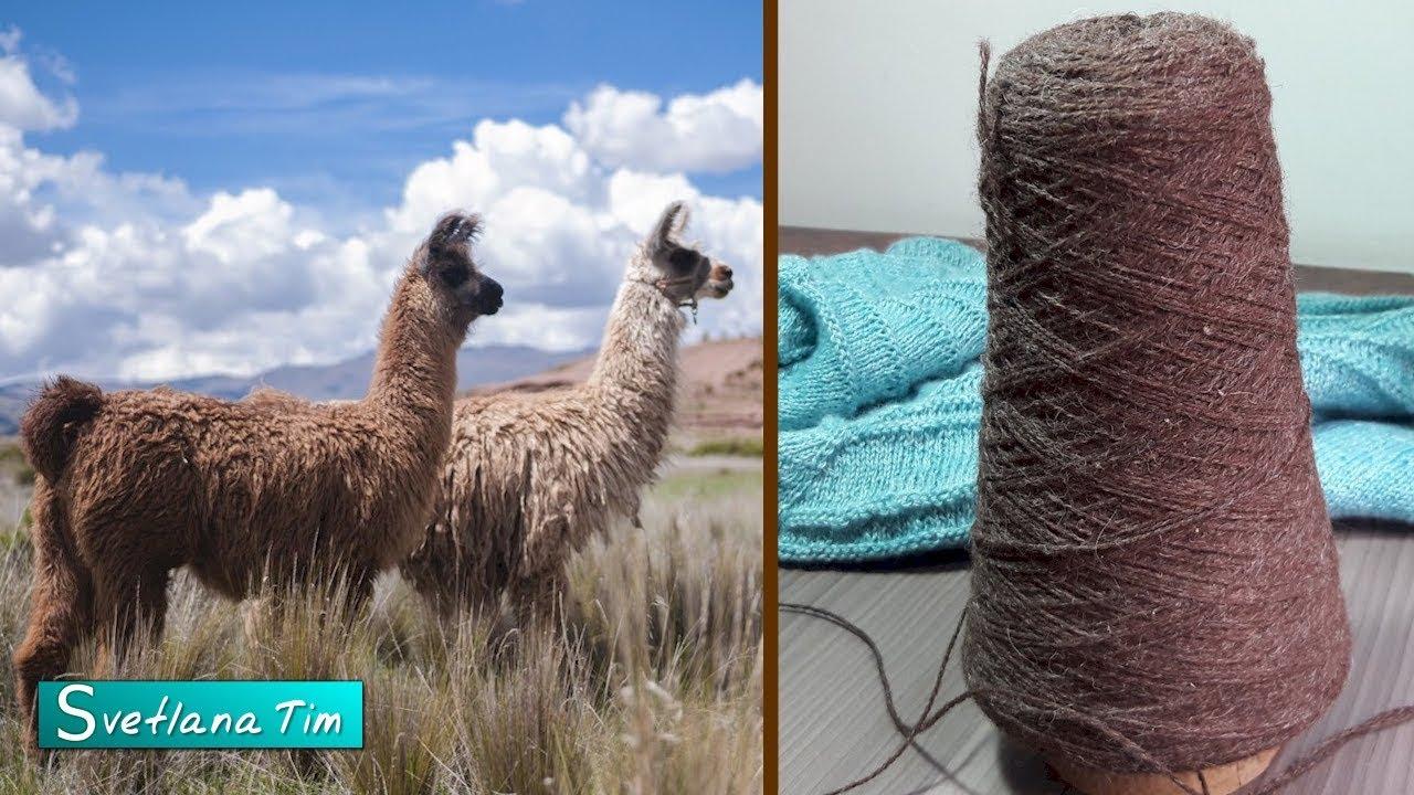 Пряжа 100% Лама. Шерсть Ламы. Аргентинская пряжа.