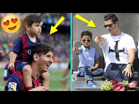 Futbolistas Famosos y Sus Hijos ft. Lionel Messi, Cristiano Ronaldo, Neymar, James, & Mas..!