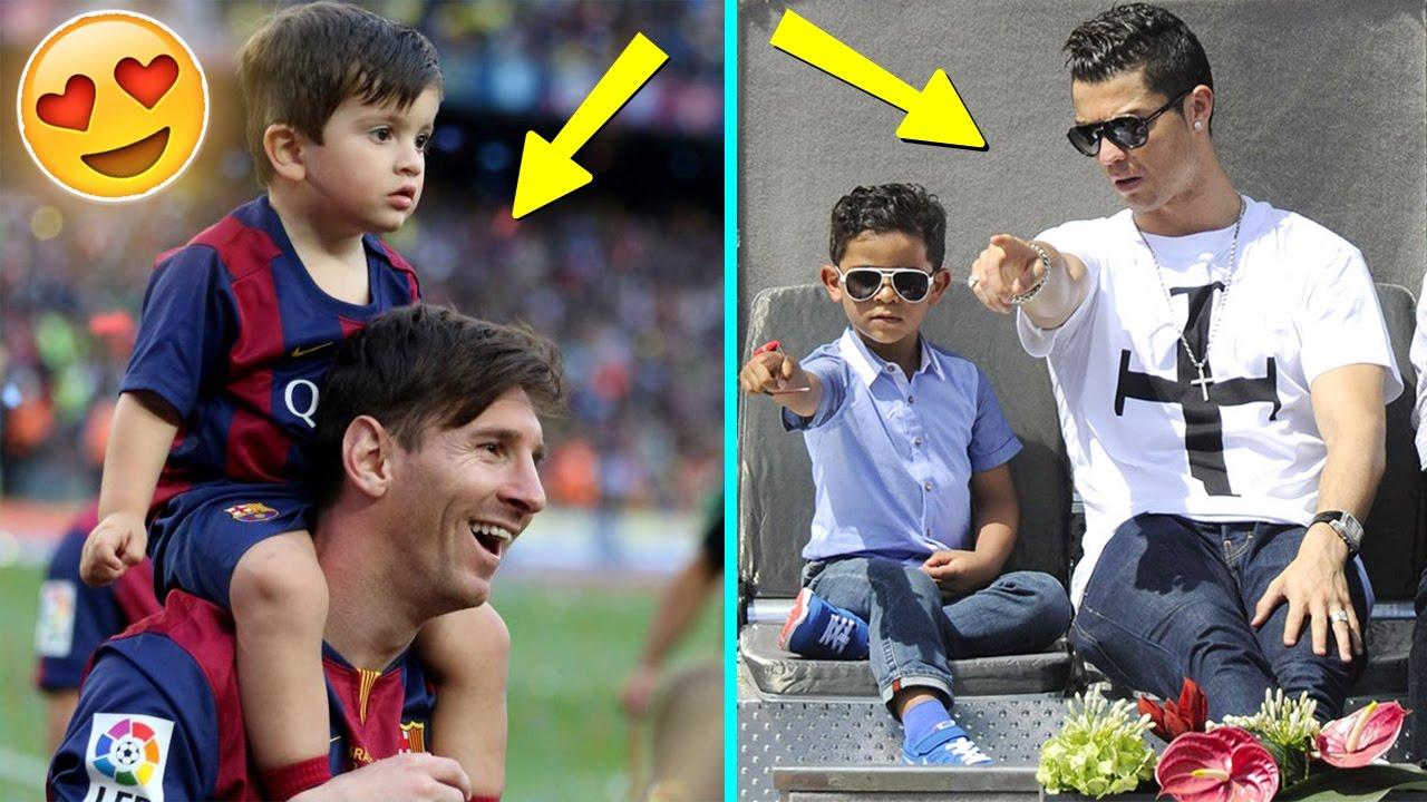 Futbolistas Famosos Y Sus Hijos Ft Lionel Messi Cristiano Ronaldo