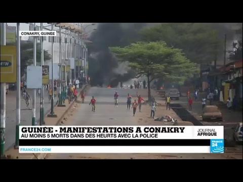 Guinée : Au Moins 5 Morts Dans Des Manifestations Pour La Réouverture Des Classes