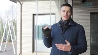 Обзор системы безрамного остекления с парковочной зоной