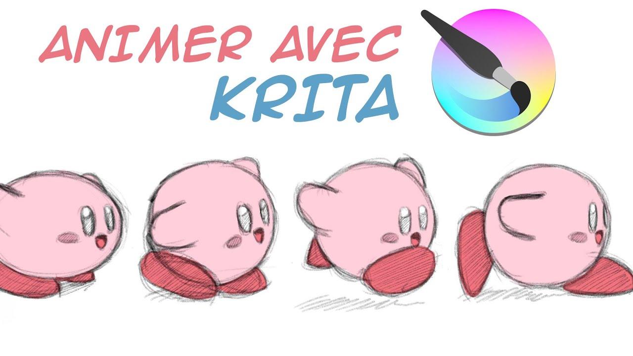 Comment Animer Avec Krita Pour Debutants Logiciel D Animation Gratuit Youtube