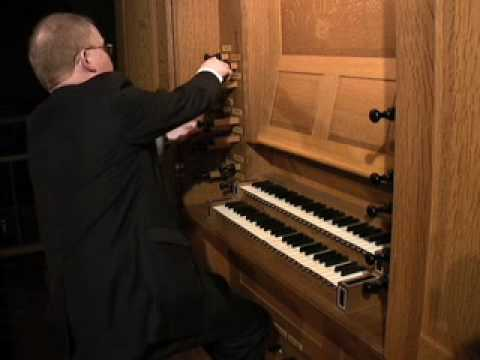 John Scott plays Bach: Prelude and Fugue in a minor, BWV 543