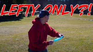 Lefty Only Disc Golf Challenge