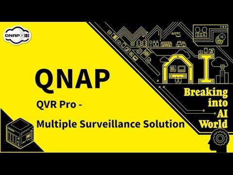 QNAP QVR Pro - Multiple Surveillance System - Korea   【2018 Computex】